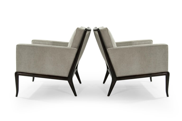 T.H. Robsjohn-Gibbings for Widdicomb Lounge Chairs, 1950s In Excellent Condition For Sale In Stamford, CT