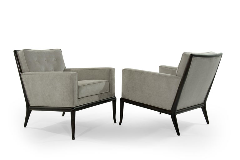 20th Century T.H. Robsjohn-Gibbings for Widdicomb Lounge Chairs, 1950s For Sale