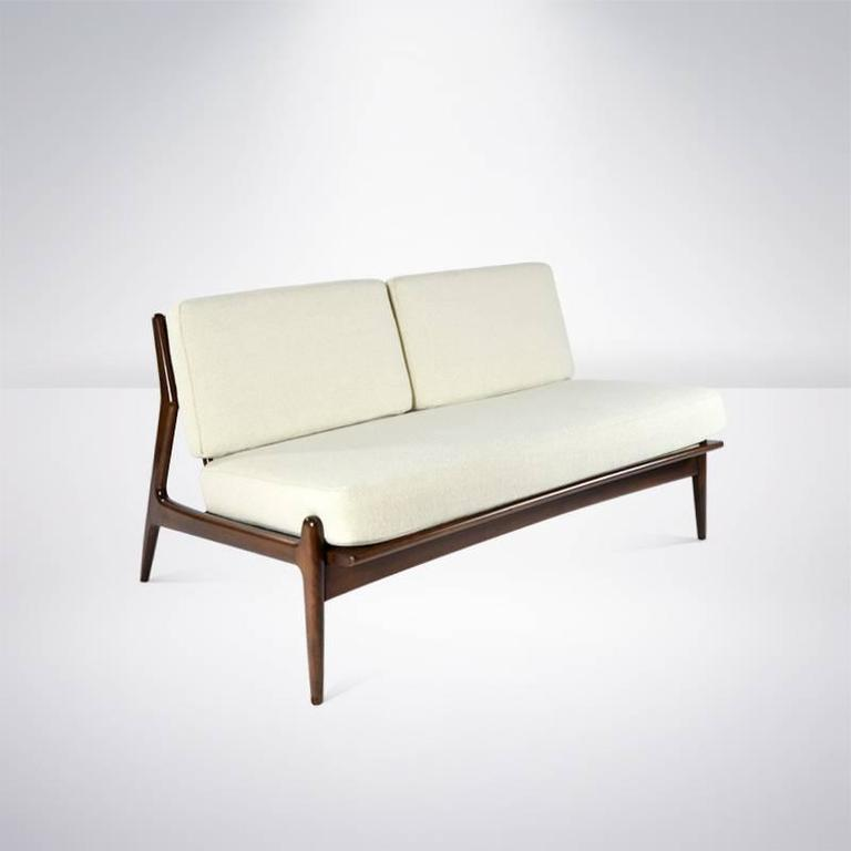 poul jensen for selig armless loveseat 3