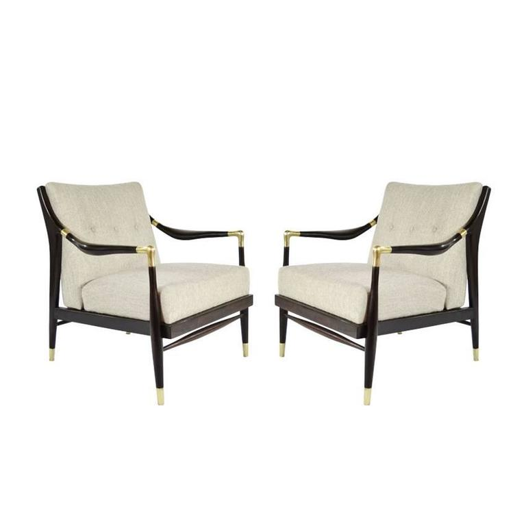 of sculptural lounge chairs jamestown royal 1950s for sale at 1stdibs
