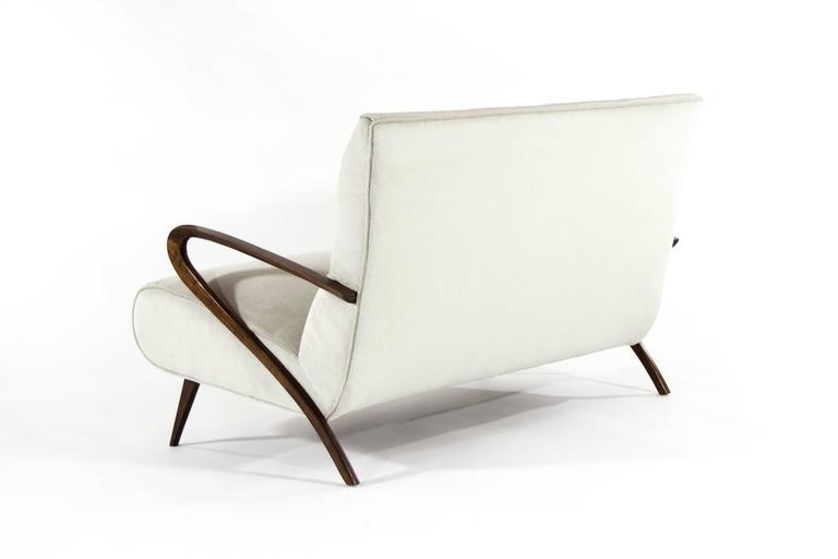 American Italian Paolo Buffa Style Settee For Sale