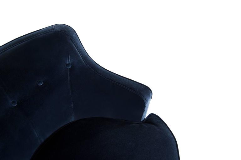 Edward Wormley For Dunbar Model 4626 Swivel Chairs At 1stdibs