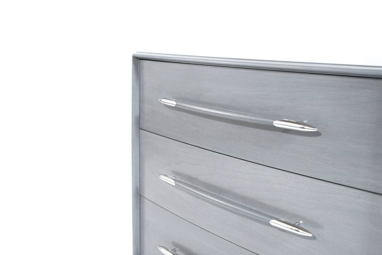 T.H. Robsjohn-Gibbings Dresser in Grey, circa 1956 7