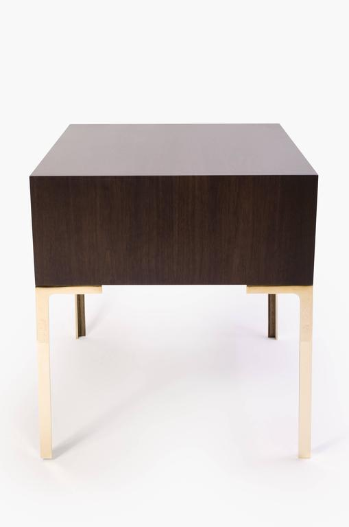 Astor Nightstands in Contrasting Ebony & Ivory by Montage 5