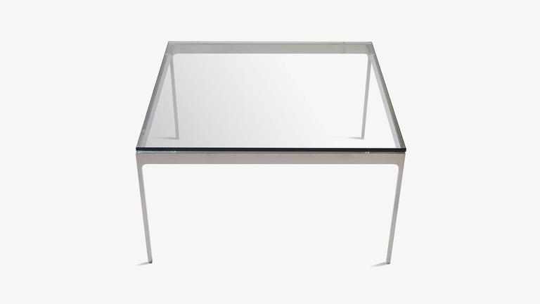 Minimalist Stainless Steel Cocktail Table by Nicos Zographos 2