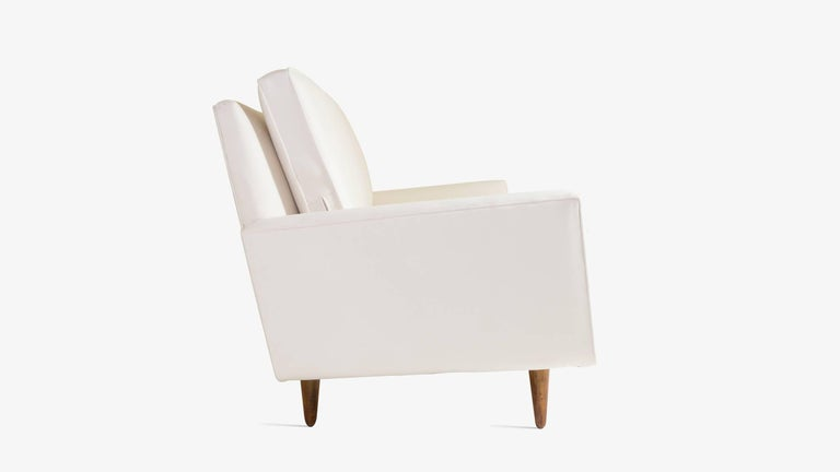 American Early Florence Knoll Three-Seat