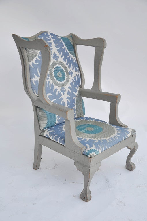 Antique Boston Wing Chair For Sale At 1stdibs