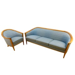Scandinavian Modern Lounge Set