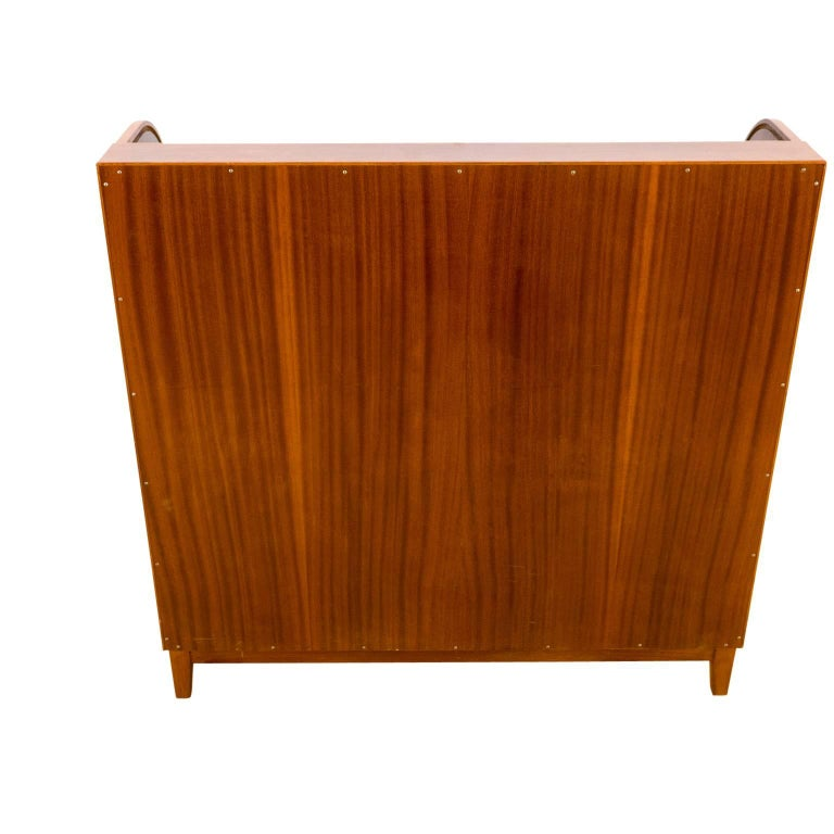Mahogany Roll Front Desk For Sale At 1stdibs