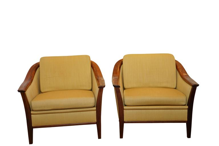 Mid-Century Modern Sofa and Armchairs Set In Excellent Condition For Sale In New York, NY