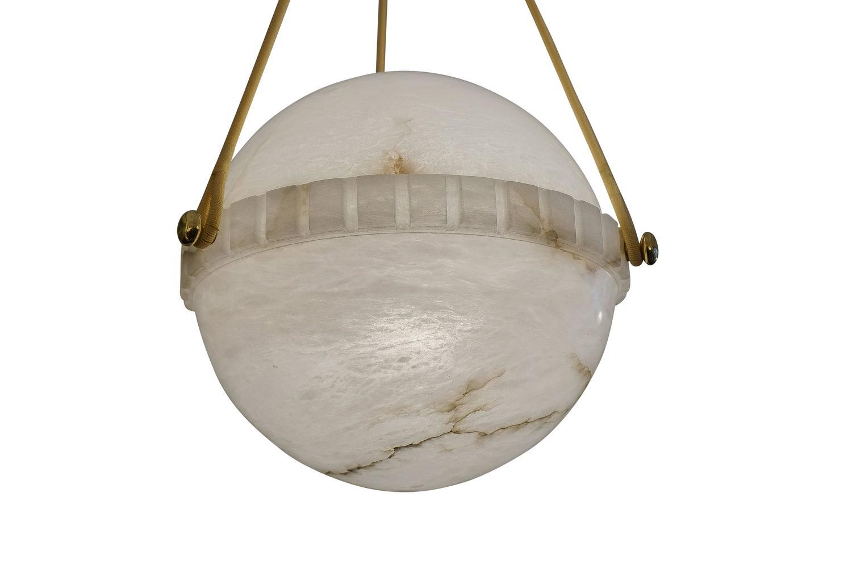 swedish alabaster globe light fixture at 1stdibs. Black Bedroom Furniture Sets. Home Design Ideas