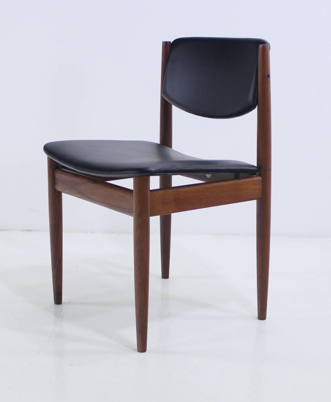 danish modern teak dining set designed by finn juhl for sale at