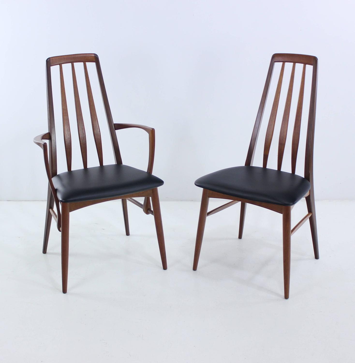 high back dining chairs designed by niels kofoed for sale at 1stdibs
