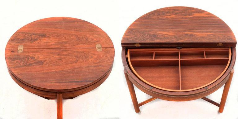 European Super Rastad & Relling Side Table For Sale