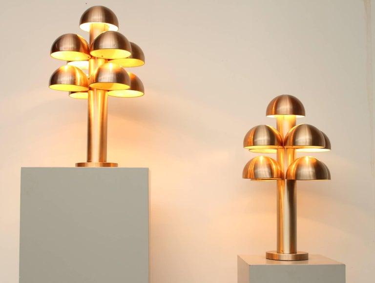 Mid-Century Modern Maija Liisa Komulainen for RAAK Amsterdam Pair of Table Lamps