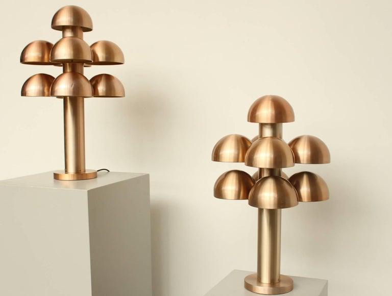 Late 20th Century Maija Liisa Komulainen for RAAK Amsterdam Pair of Table Lamps
