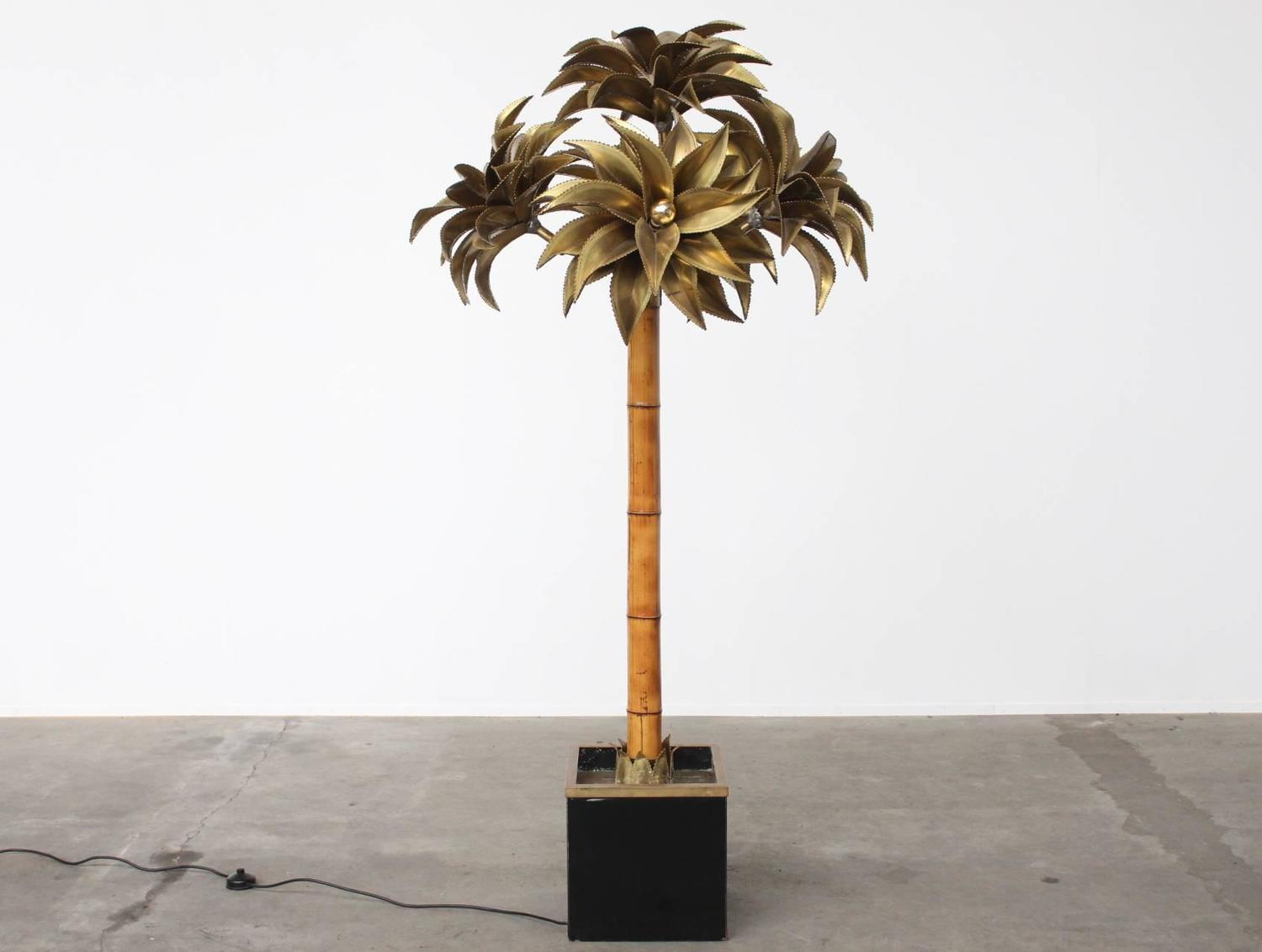 Palm Tree Floor Lamp Maison. Second-sun.co