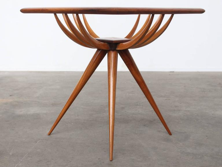 Giuseppe Scapinelli Brazilian Sculptural Side Table At 1stdibs
