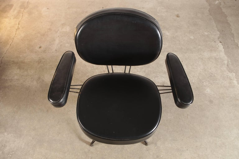 Mid-20th Century Rare Pair of Pierre Paulin Arm Chairs for Thonet For Sale