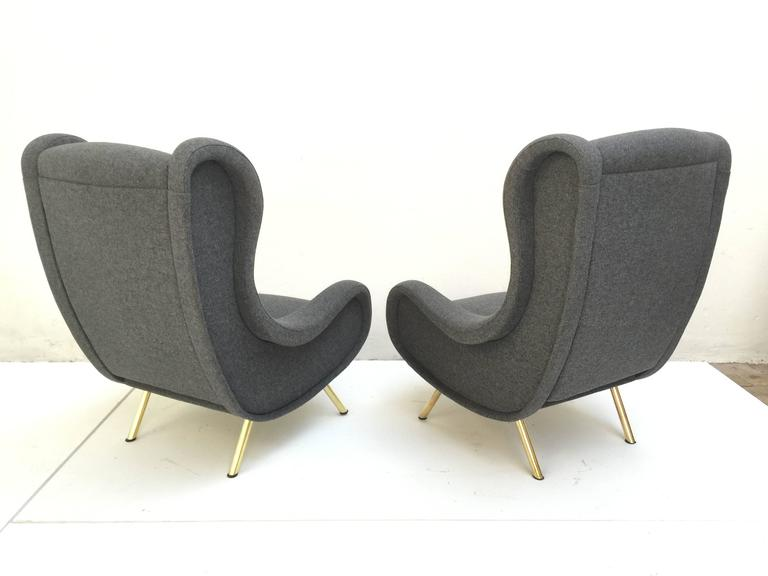 'Senior' Chairs by Marco Zanuso, 1951,very rare early examples with wood frames 5