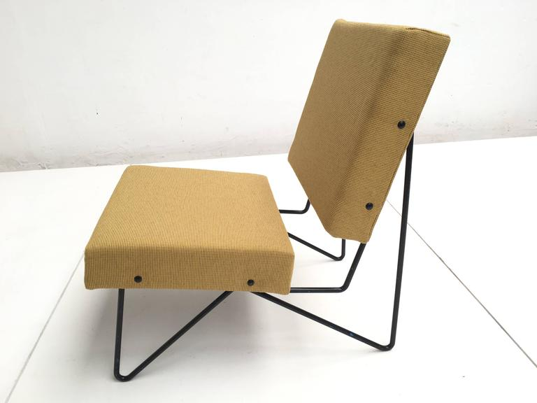 Modernist Cees Braakman FM03 Combex Lounge Chair for UMS Pastoe 1953 Restored For Sale 1