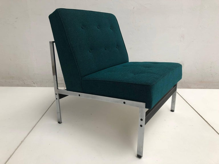 Dutch Rare Pair of 020 Lounge Chairs, Kho Liang Ie for Artifort the Netherlands, 1958 For Sale