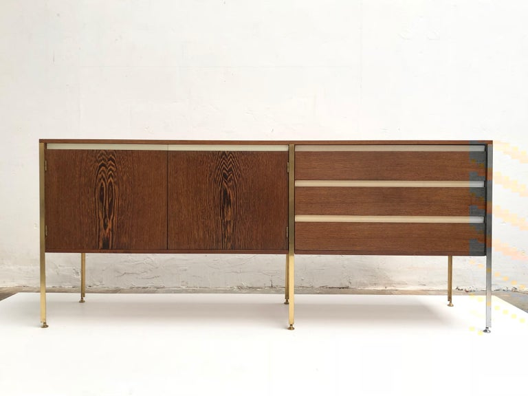 Dutch 'Copal' Credenza in Panga Panga by Kho Liang le & Wim Crouwel for Fristho, 1960 For Sale