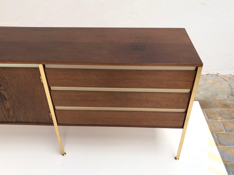 'Copal' Credenza in Panga Panga by Kho Liang le & Wim Crouwel for Fristho, 1960 For Sale 2