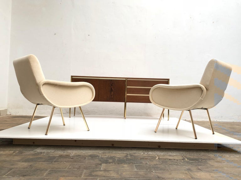 Ultra rare exceptional piece of Dutch modernism design produced by Fristho and distributed by Arflex in Europe.  Designed by 2 great pioneers of design in Holland namely Kho Liang Ie and Wim Crouwel in the early days of Dutch modernism.  This