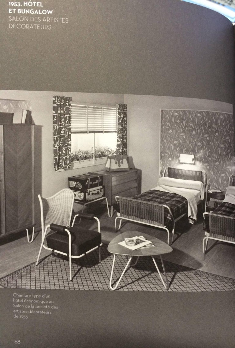 1952 'Miami' Daybed by Jacques Hitier for the Famous 'Antony' Building, Paris For Sale 9