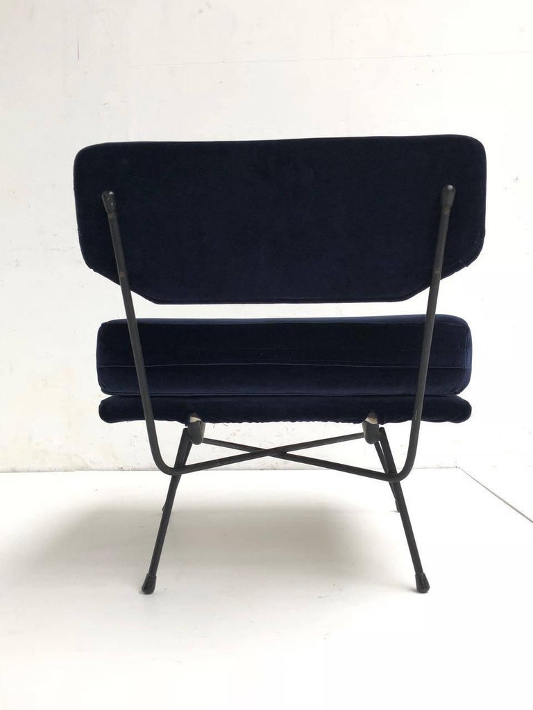 Mid-20th Century Pair of 'Elettra' Lounge Chairs by BBPR , Arflex,Italy 1953, Compasso D'Oro 1954 For Sale