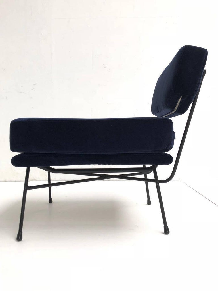 Pair of 'Elettra' Lounge Chairs by BBPR , Arflex,Italy 1953, Compasso D'Oro 1954 In Good Condition For Sale In bergen op zoom, NL