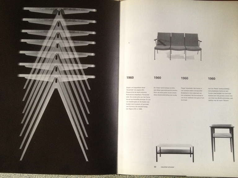 Wim Rietveld 1st Edition Oak Top 'Pyramid' Compass Table Ahrend the Cirkel 1959 In Good Condition For Sale In bergen op zoom, NL
