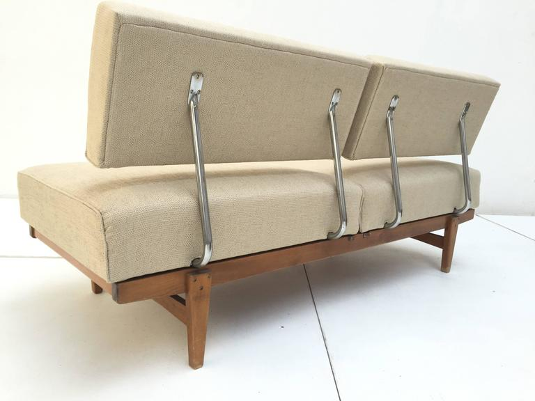 1950s Magic Day Bed Sofa Model Stella No 5920 By Wilhelm Knoll Germany