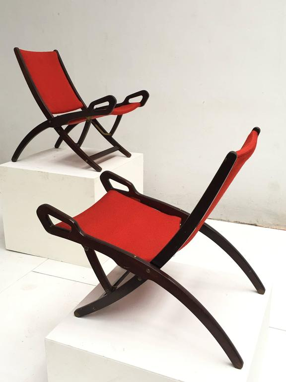 Italian Gio Ponti ''Ninfea'' Chairs, 1958, Published with Certificate from Ponti Archive For Sale