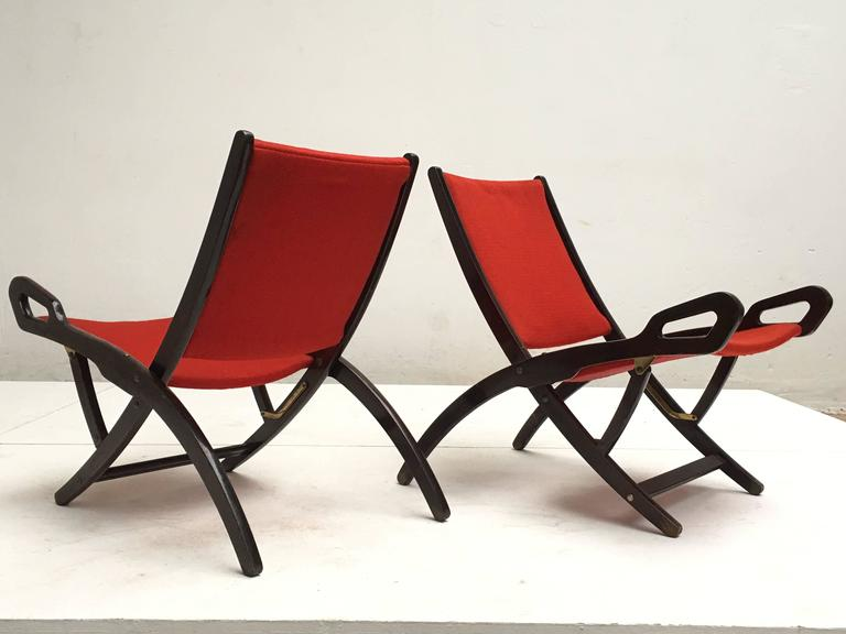 Gio Ponti ''Ninfea'' Chairs, 1958, Published with Certificate from Ponti Archive For Sale 2