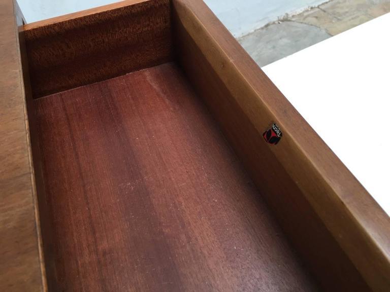 Beautiful T95 'Direzionale' Desk with Swivel Drawer Units, Osvaldo Borsani, 1956 For Sale 1