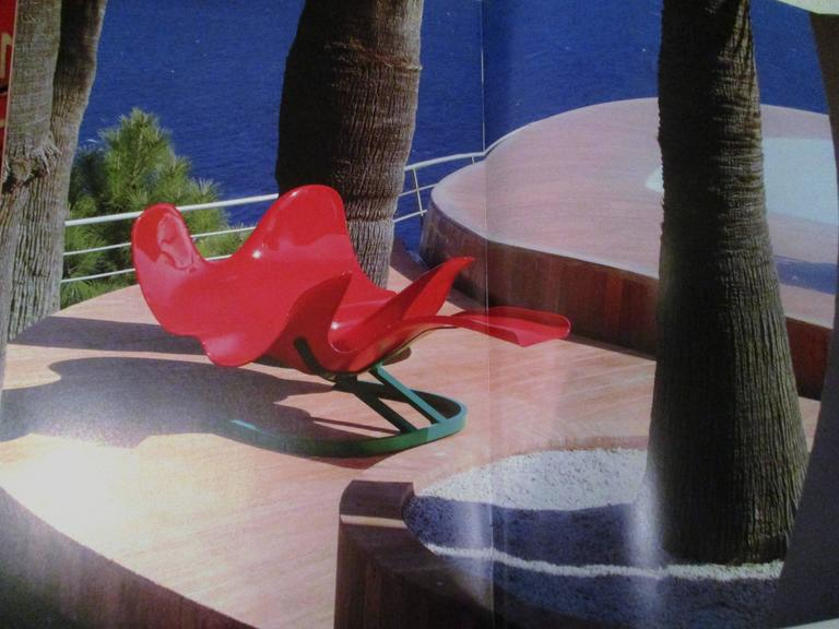 Prototype 'Elephant' Chaise by Bernard  Rancillac, Edition Roudillon, 1966-1985 For Sale 1