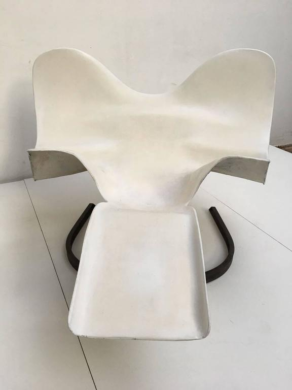 French Prototype 'Elephant' Chaise by Bernard  Rancillac, Edition Roudillon, 1966-1985 For Sale