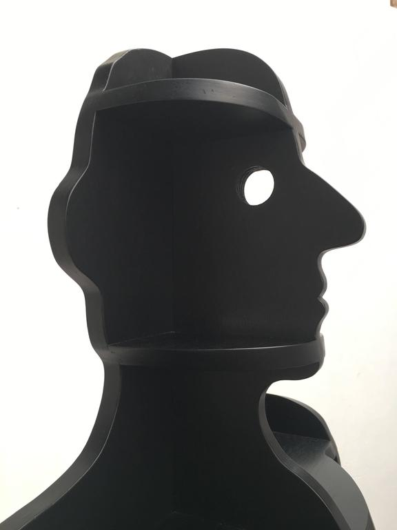 """""""Facherman"""" or translated in English """"Compartment man"""" by Swiss designers couple Susi & Ueli Berger produced by Röthlisberger Kollektion, Switzerland, 1977.  The amendable giant is his own man, he alters according to what"""