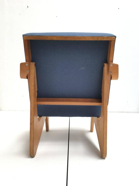 Birch Plywood FB03 Combex Plywood Armchair by Cees Braakman for UMS Pastoe, 1952 In Good Condition For Sale In bergen op zoom, NL