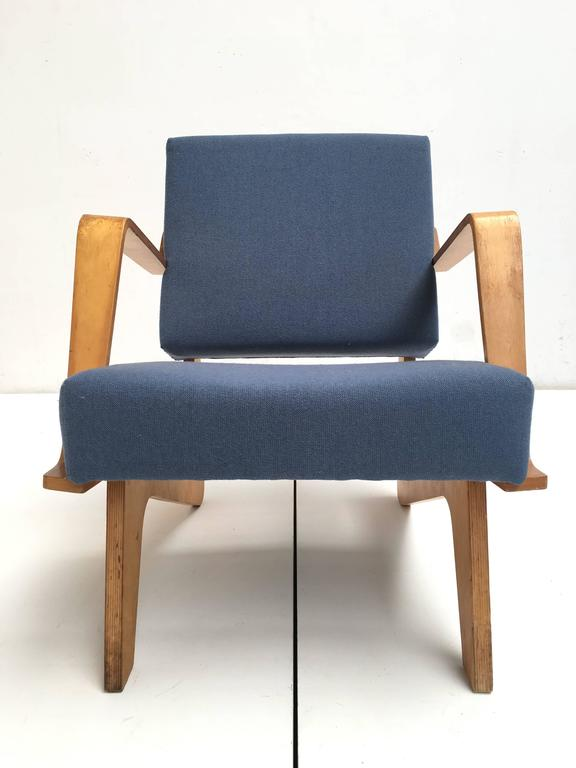 Mid-Century Modern Birch Plywood FB03 Combex Plywood Armchair by Cees Braakman for UMS Pastoe, 1952 For Sale