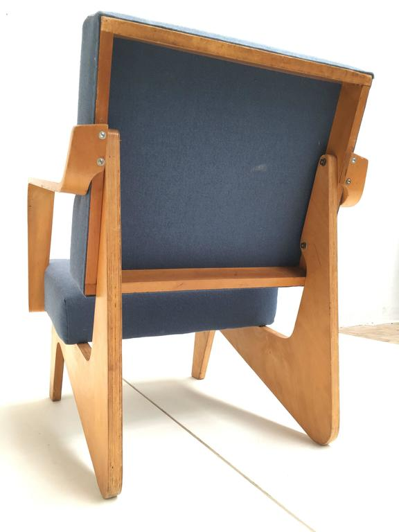 Mid-20th Century Birch Plywood FB03 Combex Plywood Armchair by Cees Braakman for UMS Pastoe, 1952 For Sale