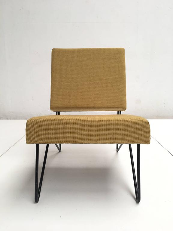 Mid-Century Modern Modernist Cees Braakman FM03 Combex Lounge Chair for UMS Pastoe 1953 Restored For Sale