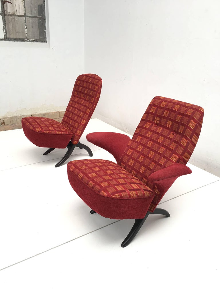 Penguin and Congo Chair by Theo Ruth for Artifort, 1957 5