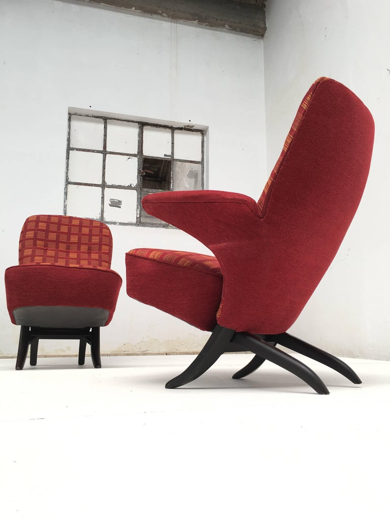 Penguin and Congo Chair by Theo Ruth for Artifort, 1957 4