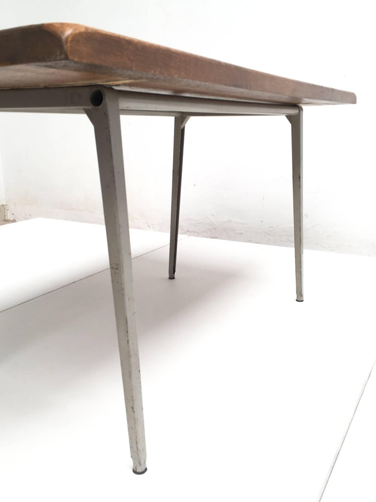 Friso Kramer 'Reform' Table or Desk with Reclaimed Rustic Oak Top 7