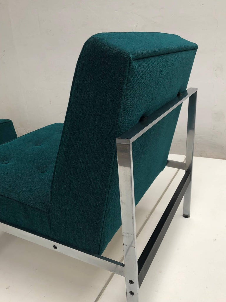 Mid-Century Modern Rare Pair of 020 Lounge Chairs, Kho Liang Ie for Artifort the Netherlands, 1958 For Sale