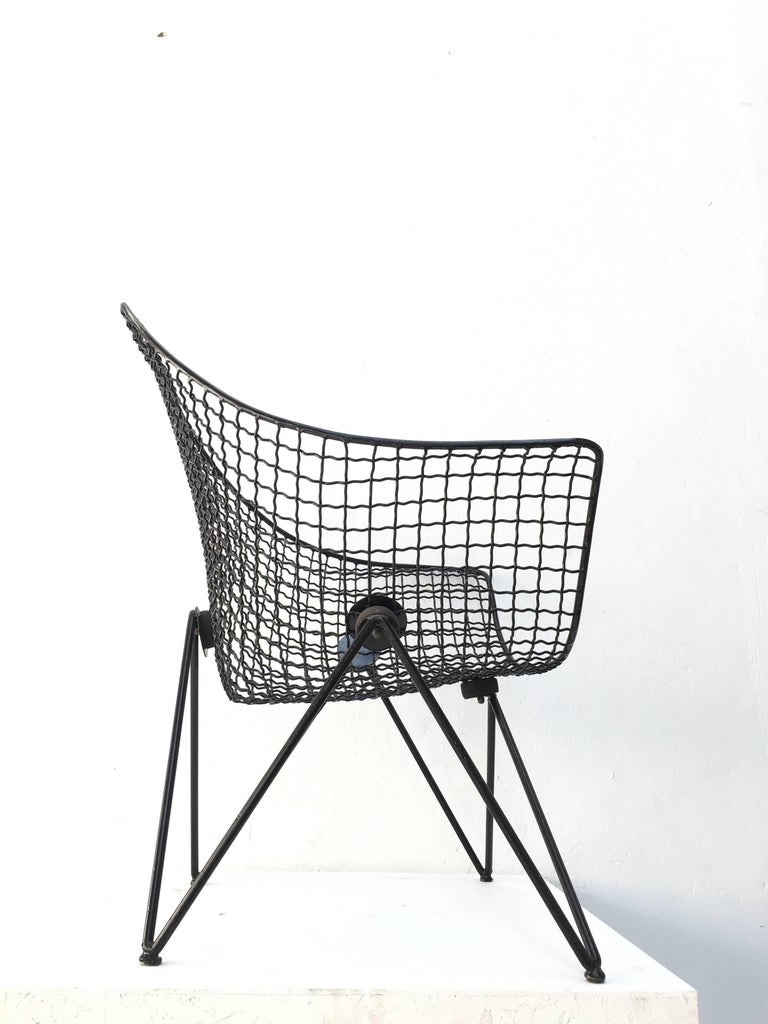 Rare and Beautiful Sculptural 'DU43' Lounge Chair by Gastone Rinaldi, Rima, 1953 For Sale 1