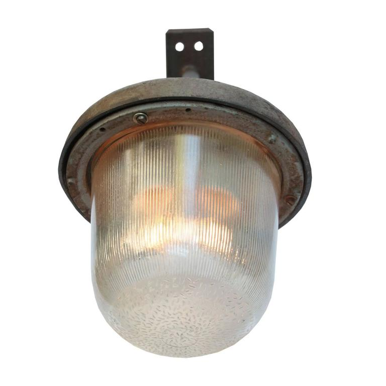 med baugy (36 in stsock) Large Vintage Industrial Wall Lights at 1stdibs